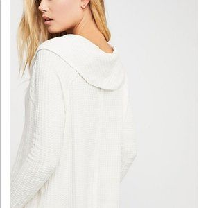 Free People Sweaters - Free People We The Free Wildcat Thermal Sweater S